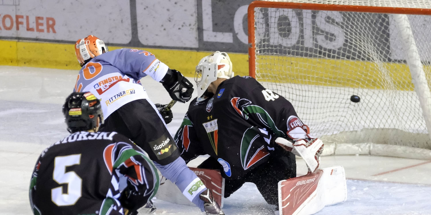 Eishockey Continental Cup am Ritten