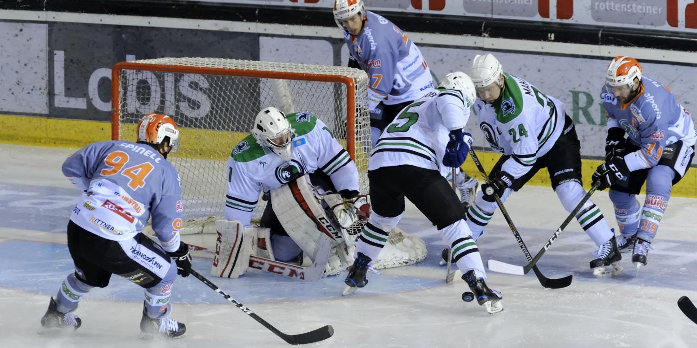 Eishockey Continental Cup am Ritten